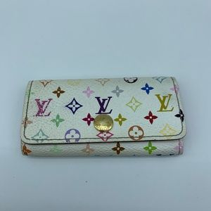 Louis Vuitton Multicolor 4 keys holder